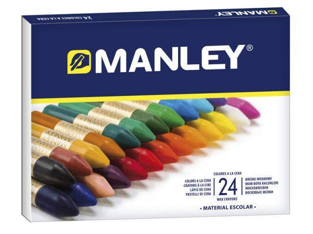 MANLEY CAJA 24 CERAS STDO REF124