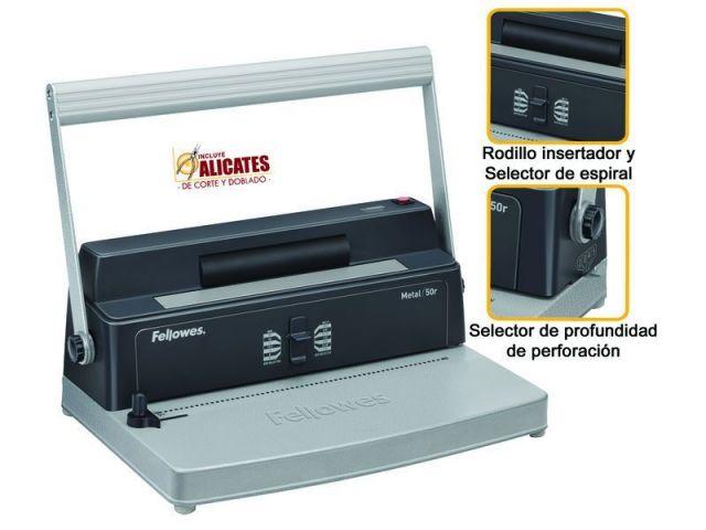 FELLOWES ENCUADERNADORA METAL 50R 5600501