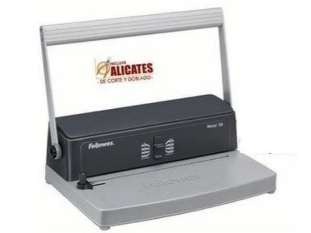 FELLOWES ENCUADERNADORA METAL 50 3005001