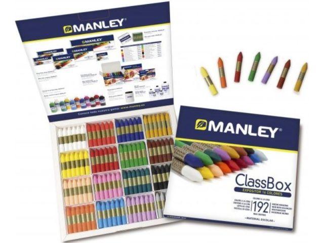 MANLEY SCHOOL PACK CAJA 192 CERAS STDO REF192