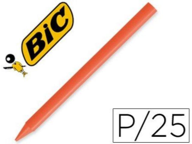 BIC PLASTIDECOR UNICOLOR CJ 25. NARANJA  816965