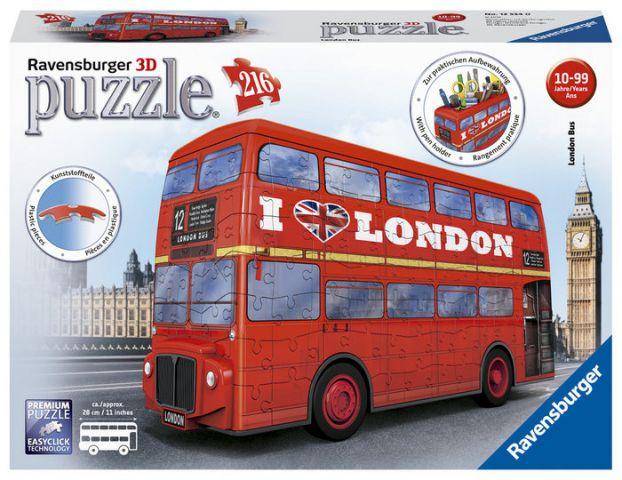 PUZZLE 3D LONDON BUS (RAVENSBURGER)