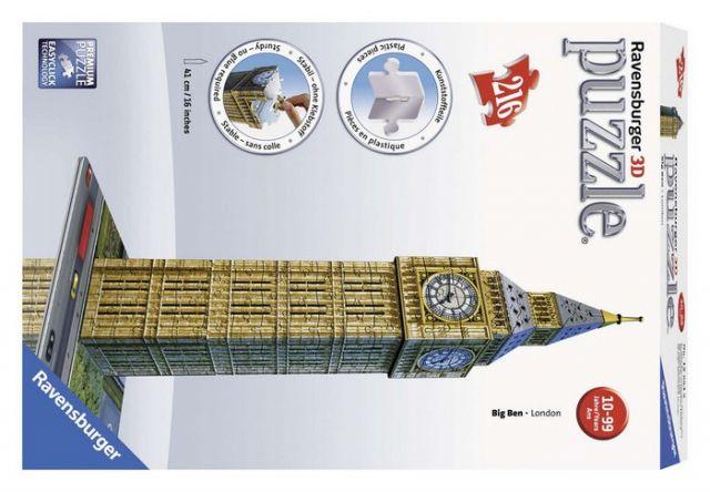 PUZZLE 3D BIG BEN BUILDING  12554 (RAVENSBURGER)