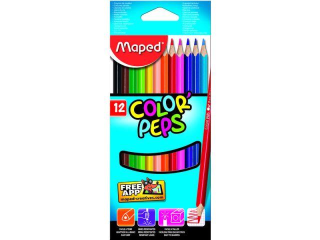 MAPED  EST 12 LAP COLORES COLORPEPS 183212