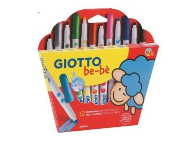 GIOTTO EST.12 ROTULADORES. GIOTTO BE-BE 469900