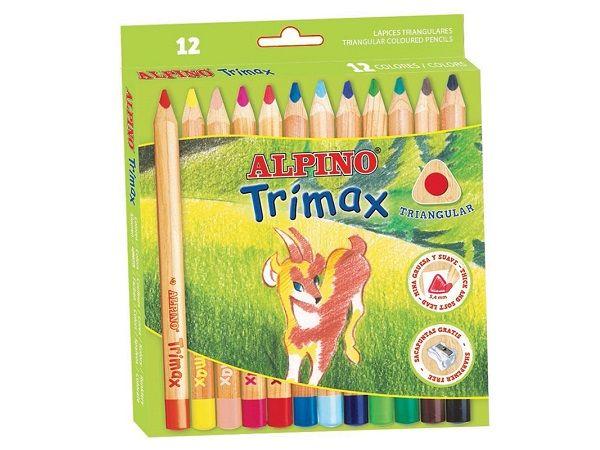 ALPINO EST.12 LAPICES COL.TRI.MAX I AL00011