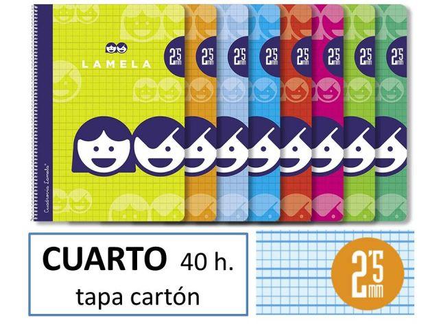 CUADERNO BASICO LAMELA 4º 40H C/2 5 07002