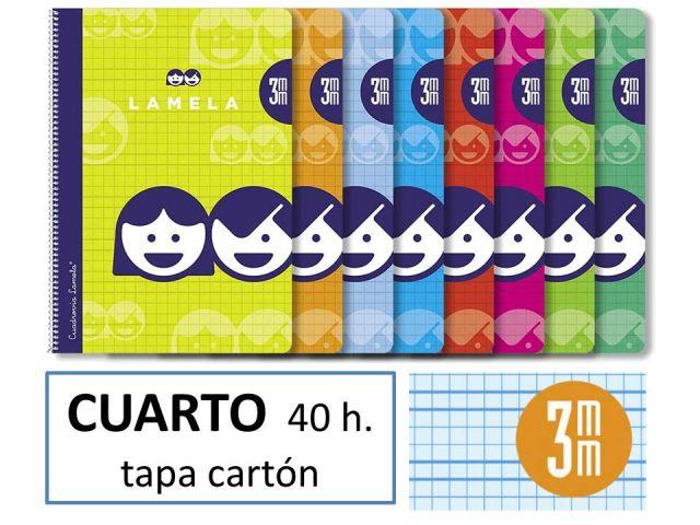 CUADERNO BASICO LAMELA 4º 40H C/3 07003