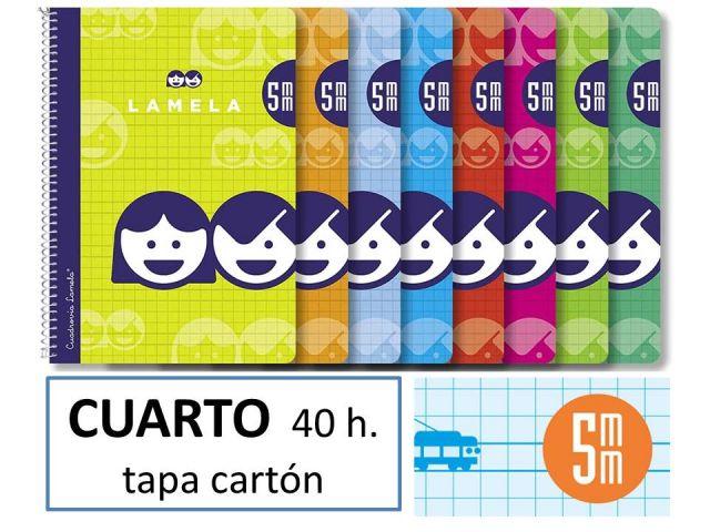 CUADERNO BASICO LAMELA 4º 40HC/5 07005