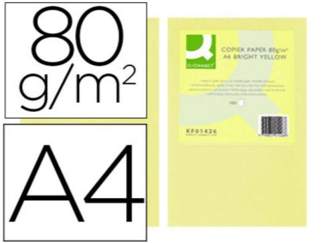 PAPEL COLOR Q-C A4 80GR CHAMPAGNE PAQ.500 H.