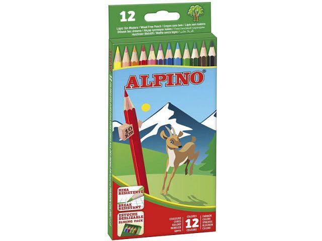 ALPINO ESTUCHE CARTON 12 LAPICES AL010654