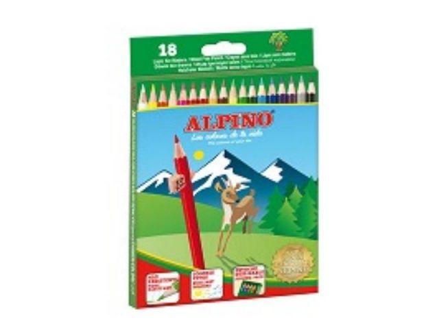 ALPINO ESTUCHE CARTON 18 LAPICES AL010656