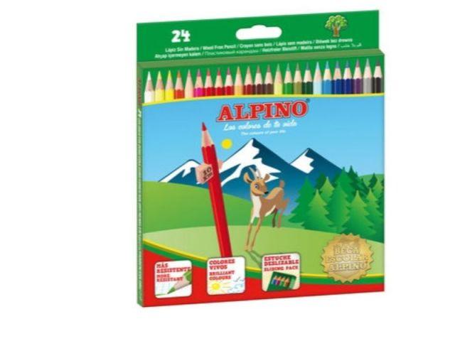 ALPINO ESTUCHE CARTON 24 LAPICES AL010658