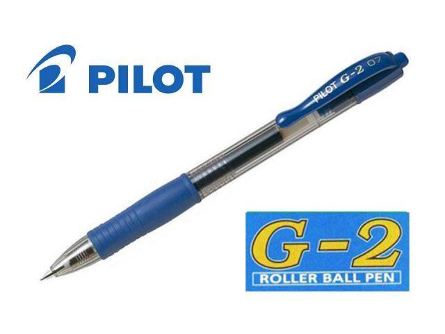 PILOT ROLLER GEL RETRAC.G-2 AZUL  BL-G2-7-L