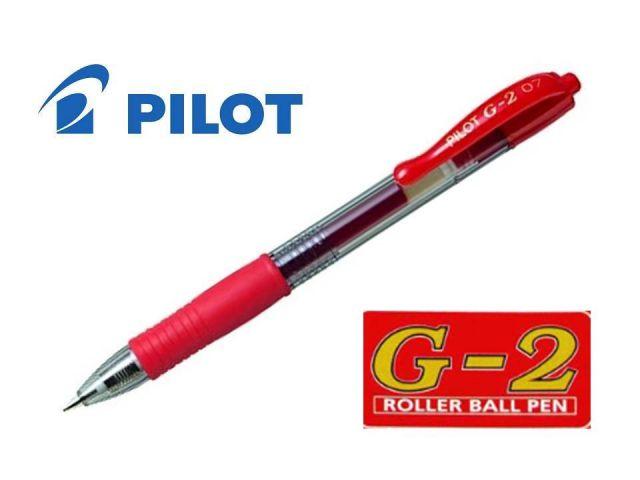 PILOT ROLLER GEL RETRAC.G-2 ROJO  BL-G2-7-R