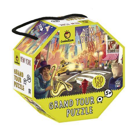 PUZZLE GRAND TOUR NUEVA YORK 150 PIEZAS (LUDATTICA