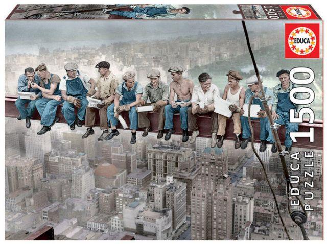 PUZZLE 1500 PZ. ALMUERZO EN N.YORK  - 16009 (EDUCA