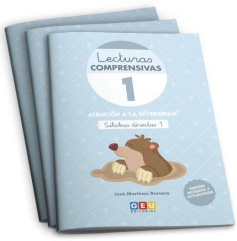PACK INF LECTURAS COMPRENSIVAS 1,2,3 + ORG. (GEU)