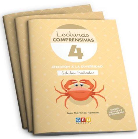 PACK 1 LECTURAS COMPRENSIVAS 4,5,6 +ORGANIZ. (GEU)