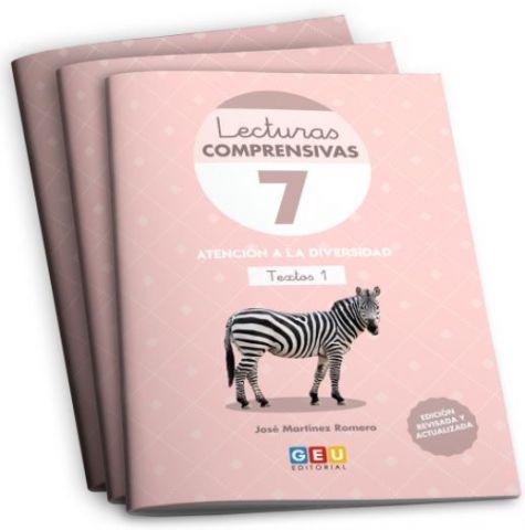 PACK 2 LECTURAS COMPRENSIVAS 7,8,9 +ORGANIZ. (GEU)