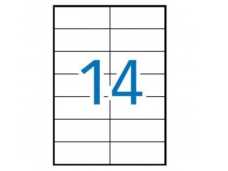 C.100H A4  ETIQUETAS 105X42,3MM (14)