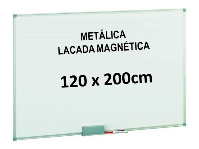 FAIBO PIZARRA BLANCA LACADA MAGNETICA 120X200 840