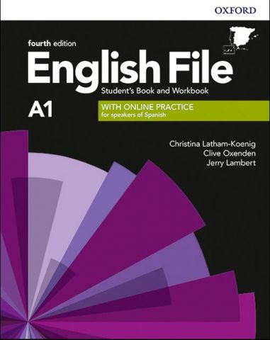 ENGLISH FILE A1 (4th Edition). STUDENT'S BOOK