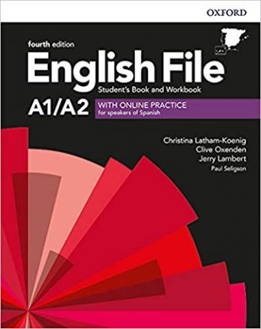 ENGLISH FILE A1/A2  (4th Edition). STUDENT'S BOOK
