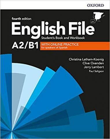 ENGLISH FILE A2/B1  (4th Edition). STUDENT'S BOOK