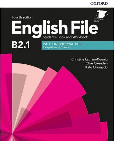 ENGLISH FILE B2.1  (4th Edition). STUDENT'S BOOK