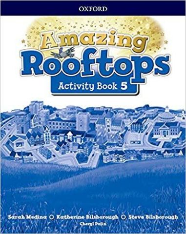 AMAZING ROOFTOPS 5 ACTIVITY BOOK (OXFORD)