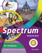 INGLÉS. SPECTRUM 4º E.S.O. STUDENT'S BOOK. ANDALUC