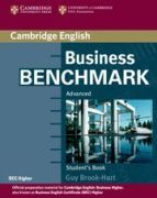 BUSINESS BENCHMARK ADVANCED. STUDENT'S BOOK