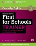 FIRST FOR SCHOOLS TRAINER WITH ANSWERS AND TEACHER