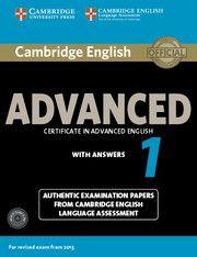 CAMBRIDGE ENGLISH ADVANCED 1 FOR REVISED EXAM. STU