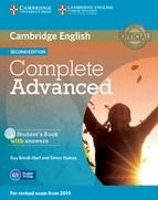 COMPLETE ADVANCED STUDENT'S BOOK WITH ANSWERS AND