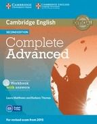 COMPLETE ADVANCED WORKBOOK WITH ANSWERS AND AUDIO