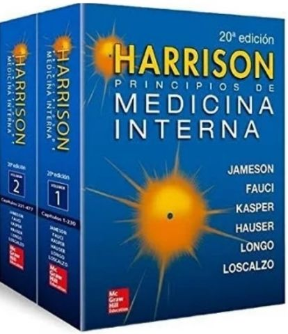 HARRISON PRINCIPIOS DE MEDICINA INTERNA 2V (20ªED)