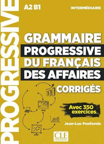 GRAMMAIRE PROGRESSIVE DU FRANÇAIS INTERM. (CLE)