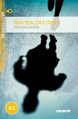 MONDES EN VF A2 NEW YORK 24H CHRONO LIVRE+MP3