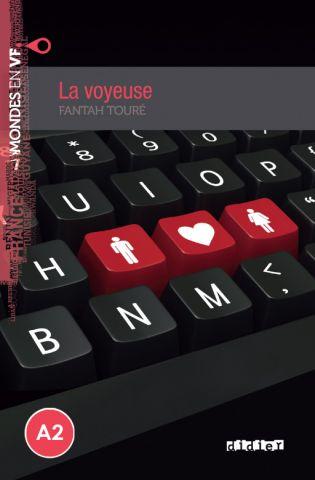 MONDES EN VF A2 LA VOYEUSE LIVRE+MP3