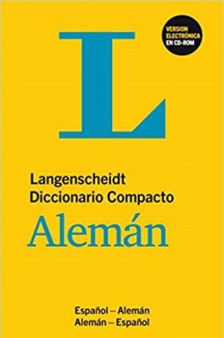 DICCIONARIO COMPACTO ESPAÑOL-ALEMÁN (LANGENSCHEIDT