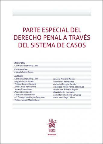 PARTE ESPECIAL D. PENAL A TRAVÉS SISTEMA DE CASOS