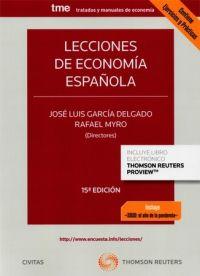 LECCIONES DE ECONOMÍA ESPAÑOLA (CIVITAS)