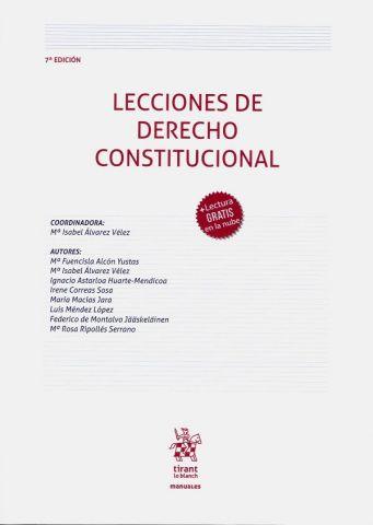 LECCIONES DE DERECHO CONSTITUCIONAL 2020 (TIRANT)