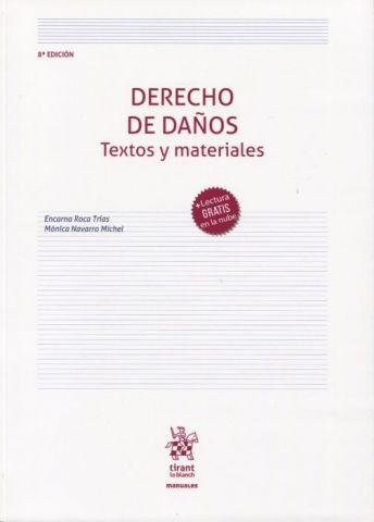 DERECHO DE DAÑOS. TEXTOS Y MAT. .2020 (TIRANT)