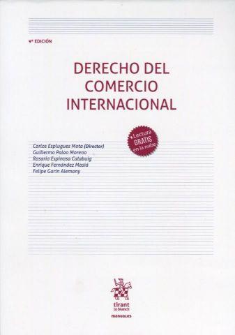 DERECHO DEL COMERCIO INTERNACIONAL  2020 (TIRANT)