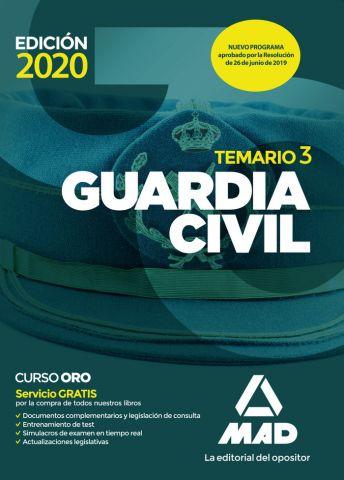 GUARDIA CIVIL  TEM.VOL.3 2020