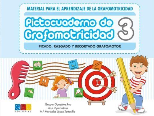PICTOCUADERNO DE GRAFOMOTRICIDAD 3 (GEU)