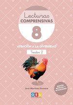 LECTURAS COMPRENSIVAS 8. TEXTOS 2 (GEU)